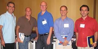 David Sarner, second from the left, at IAFCS Annual Conference